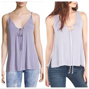NWT Free People Scarlett Tank in Lilac, Medium